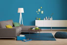 Wohnzimmer Farbe Blau Innenfarbe In Blau Azurblau Streichen Alpina Farbrezepte Weiter