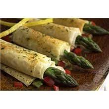 cuisine innovations cuisine innovations asparagus and asiago cheese wrapped in fillo