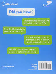 the official sat study guide amazon it college board libri in