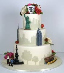 wedding cake nyc nyc skyline wedding cake cakecentral