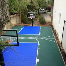 backyard basketball court flooring backyard courts sport court north carolina carolina sport court