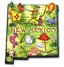 Nm State Flag New Mexico Magnets Classic State Refrigerator Magnets