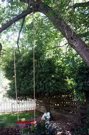 diy tree swing to make with your family for the backyard my
