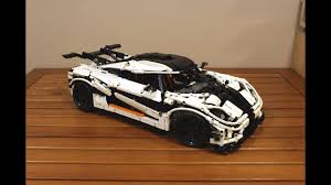 koenigsegg instructions lepin 23002 koenigsegg one 1 review youtube