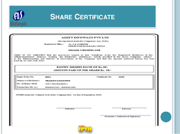 shares certificate template sample sponsorship proposals general