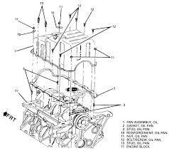 subaru engine diagram repair guides engine mechanical oil pan autozone com