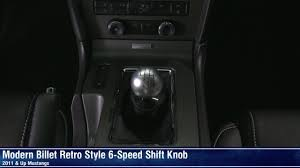 mustang 6 speed mustang retro style 6 speed shift knob white black chrome or