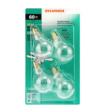 ceiling fan light bulbs shop sylvania 4 pack 60 watt dimmable soft white a15 incandescent