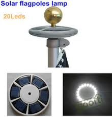 Flag Pole Lights Solar Powered Discount Led Flag Pole Lights 2017 Solar Led Flag Pole Lights On