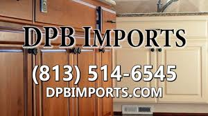 Kitchen Cabinets Tampa Wholesale Wholesale Cabinetry In Tampa Fl Dpb Imports Youtube