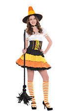 Candy Corn Halloween Costumes Women U0027s Candy Sweets Dress Costumes Ebay