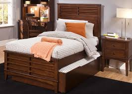 Queen Size Bed With Trundle Three Drawer Chest With Open Media Shelf By Liberty Furniture