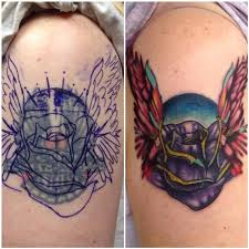and wing cover up by daniel adamczyk tattoonow