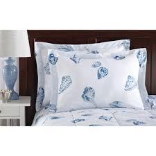 Duvet Covers Walmart Mainstays Seashells Bed In A Bag Coordinated Bedding Set Walmart Com