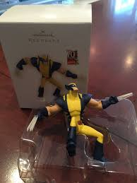 hallmark keepsake marvel s wolverine ornament in excellent