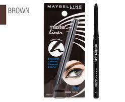 maybelline master liner creamy pencil eyeliner 0 35g brown