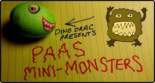 Dinosaur Easter Egg Decorating Kit by Paas Mini Monsters Easter Egg Kit Dinosaur Dracula