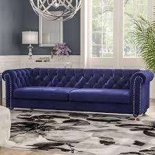 ms chesterfield sofa review noelia chesterfield sofa reviews allmodern