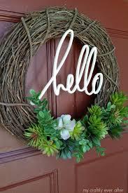Wreath Diy Best 25 Wreath Ideas Ideas On Pinterest Diy Wreath Hanger Diy