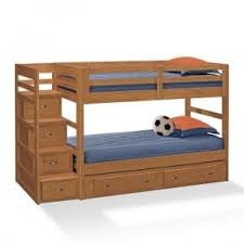 Tidy King Bed With Storage by Bunk Bed With Stairs And Storage Foter