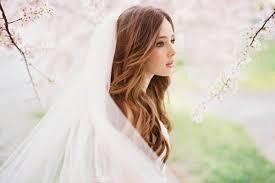 Natural Wavy Hairstyles Wedding Veil Natural Wavy Hairstyles For Long Wedding Hairstyles