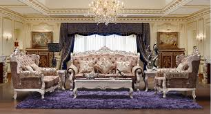antique style living room furniture 3 2 1 european royal style fabric sofa sets living room furniture