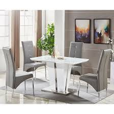 Glass Dining Sets 4 Chairs Small Glass Dining Table And 4 Chairs Prepossessing Decor
