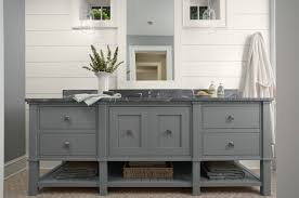 awesome grey bathroom vanity engineered wood base material white