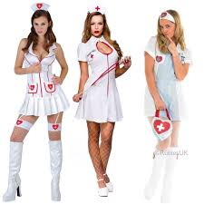 naughty nurse uniform 999 ladies fancy dress