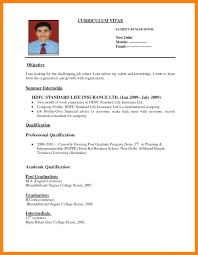 pdf of resume format awfuldard resume sle format for fresh graduates two page template