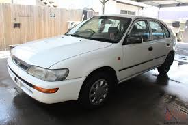 corolla csi seca 1997 5d liftback 5 sp manual no reserve in little