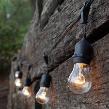 outdoor sockets for christmas lights patio string lights with suspended sockets patios and outdoor