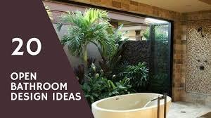 bathroom design inspiration 20 amazing open bathroom design inspiration the architects diary