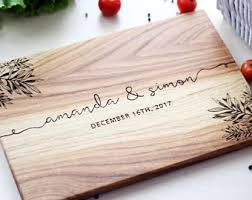 Engraved Wedding Gifts Ideas Custom Wedding Gift Etsy