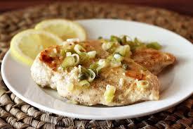 Southern Main Dish Recipes Baked Lemon Chicken With Garlic Recipe