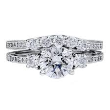 engagement and wedding ring set 72 jewelry size 8 engagement wedding ring set 1 97 carat