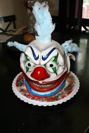 halloween cakes and cupcakes ideas scary clown cake cakes by m e pinterest clown cake cake
