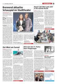 Wohnzimmer Konstanz Poetry Slam Stadtanzeiger Olten Ausgabe 9 2 März 2017 By Stadtanzeiger