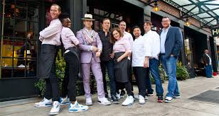 Meme Restaurant Nyc - inside the nyc restaurant where all the servers wear air jordans