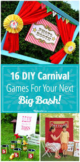 16 diy carnival games for your next big bash tip junkie