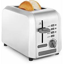 Stainless Toaster 2 Slice Chefman Stainless Steel 2 Slice Wide Slot Toaster W Bagel