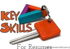 resume skills list of skills for resume sample resume job