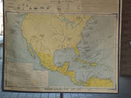 Mexico Map 1800 by Welcome
