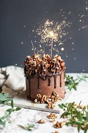 birthday cake sparklers nutella stuffed chocolate hazelnut cake recipe chocolate