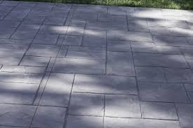 Photos Of Stamped Concrete Patios by Sealing Majestic Ashlar Stamped Concrete