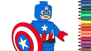 lego captain america coloring pages eliolera com