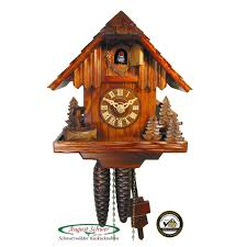 buy small forest cabin cuckoo clock online germany ernst licht