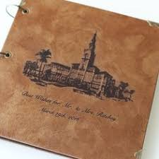 leather photo albums engraved personalized family tree album engraved leather photo album