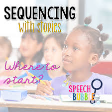 How To Look Happy by Sequencing With Stories Where To Start The Speech Bubble