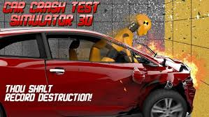 car crash test simulator 3d android apps on google play